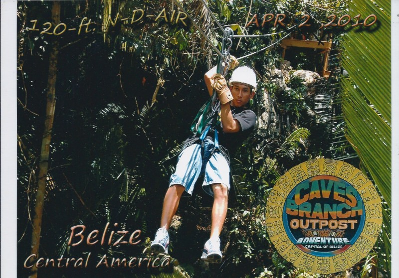 Belize zip lining